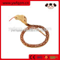 Serpiente animal de madera del juguete de la simulación para la decoración