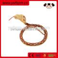 Simulation jouet bois animal serpent pour la décoration