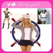 Girls Sexy Military Costume of Perform Wear