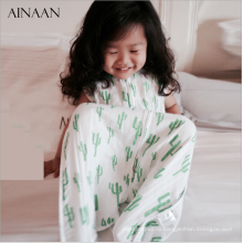 Напечатанные ткань Муслин ребенка пеленать обернуть,Муслин пеленать одеяло Муслин пеленать