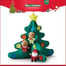 wholesale importer tree plush toys Christmas decorating ornament