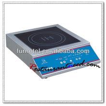 K157 Kitchen Equipment Fogão de indução comercial
