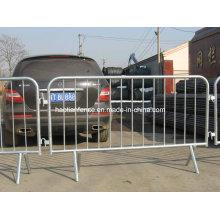Barras amovíveis de controle de multidões de estradas para venda, barreira de controle de multidão de shows