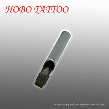 Puntas de la aguja del tatuaje del acero inoxidable de la forma plana de Professinal