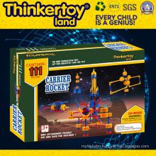 Windmill Set Model Plastic Education Toy Plastic Building Blocks
