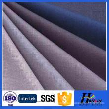 Sensação de mão macia tecida lisa tingida tr lã misturar tecido para vestuário, ternos