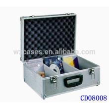popular caso de DVD CD 90 discos (10mm) de aluminio por mayor de China fabricante
