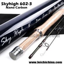 em estoque Skyhigh Nano Carbono Fly Fishing Rod