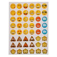 autocollants emoji décoratifs de dessin animé mignon décoratifs mignons de cadeaux d'OEM de ventes