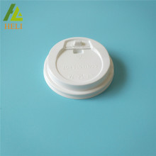 Thermoformed Plastic PS Coffee Cups Lid