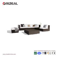 Sofa en rotin extérieur sectionnel OZ-OR058
