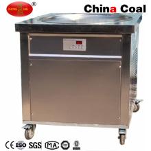 Machine à crème glacée à frire plate