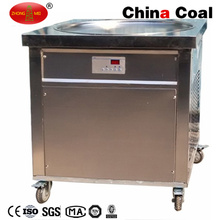 Flat Pan Fry Ice Cream Machine