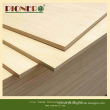 Eco-Friendly E0 Glue Hardwood Core Melamina frente a la madera contrachapada para Dubia