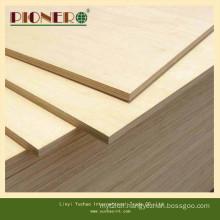Eco-Friendly E0 Glue Hardwood Core Melamine Faced Plywood for Dubia