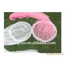 Canopée à lit rond / moustiquaire 100% polyester