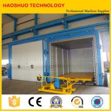 Cámara de secado al vacío de presión variable para elementos eléctricos