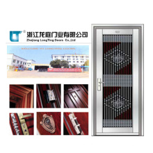 Puerta de seguridad comercial de acero inoxidable