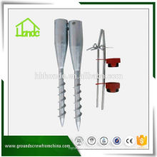 Adjustable Ground Screw Pole Anchor Factory