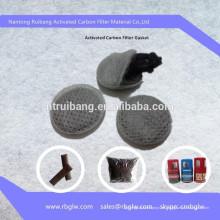 eliminación de olores y material de limpieza de aire de eliminación de gases para el paño desodorante de flatulencia