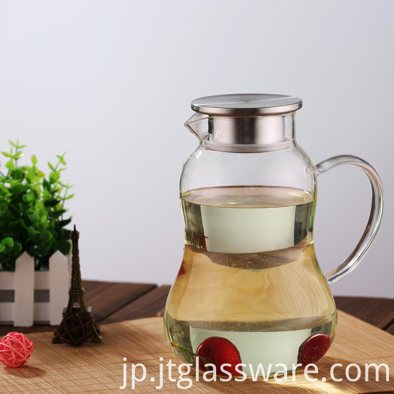 ,HotCold Water Carafe with Homemade Juice & Iced Tea