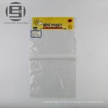 Bolso de embalaje plano mini poliéster biodegradable