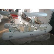 Inflatable rib boat