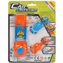 Vehículo de plástico F1 velocidad coche lanzador coche de juguete