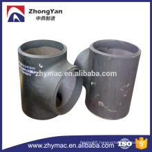 ASTM A234 wpb tee pipe fittings for construction materials