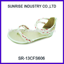 SR-13CFS606 2014 Hot sale cheap beautiful sandals for girls sandals for flat feet cute sandals for girls