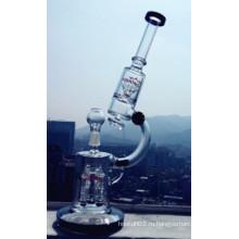 Стеклянная водопроводная труба для курения