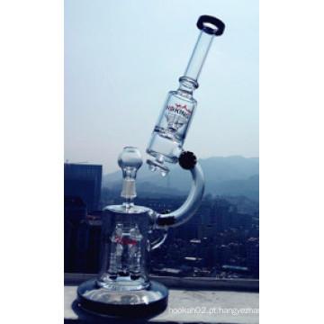 Atacado fábrica Microscópio fumar tubo de água de vidro