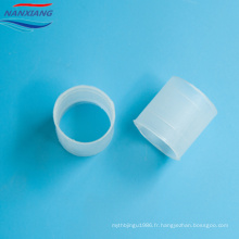 Usine meilleure qualité 25mm 50mm en plastique Raschig anneau colonne emballage