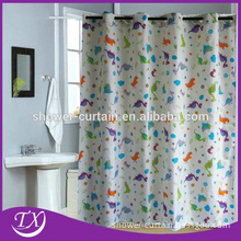 Fabric Printing Hookless Hot sale Shower Curtains