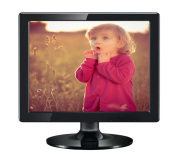 """15"""" LCD Monitor in ABS Plastic Case with HDMI VGA Inputs"""