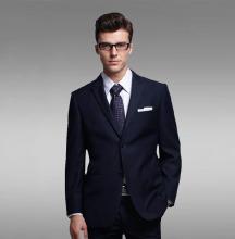 Super 150's 100%Wool One Buttons Notch Lapel Grey Latest Design Coat Pant Men Suit (CH011)