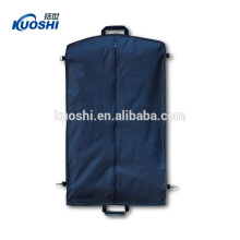 Clear garment bags with pockets