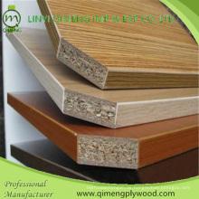 3-18mm Block Board Core oder Pappel oder Hartholz Kernfarben Melamin Sperrholz für Möbel aus Linyi Qimeng Fabrik
