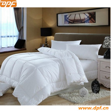 Juego de 6 colchas de lino / beige, tamaño king, edredón y almohadas a cuadros de microfibra de lujo de Royal Hotel