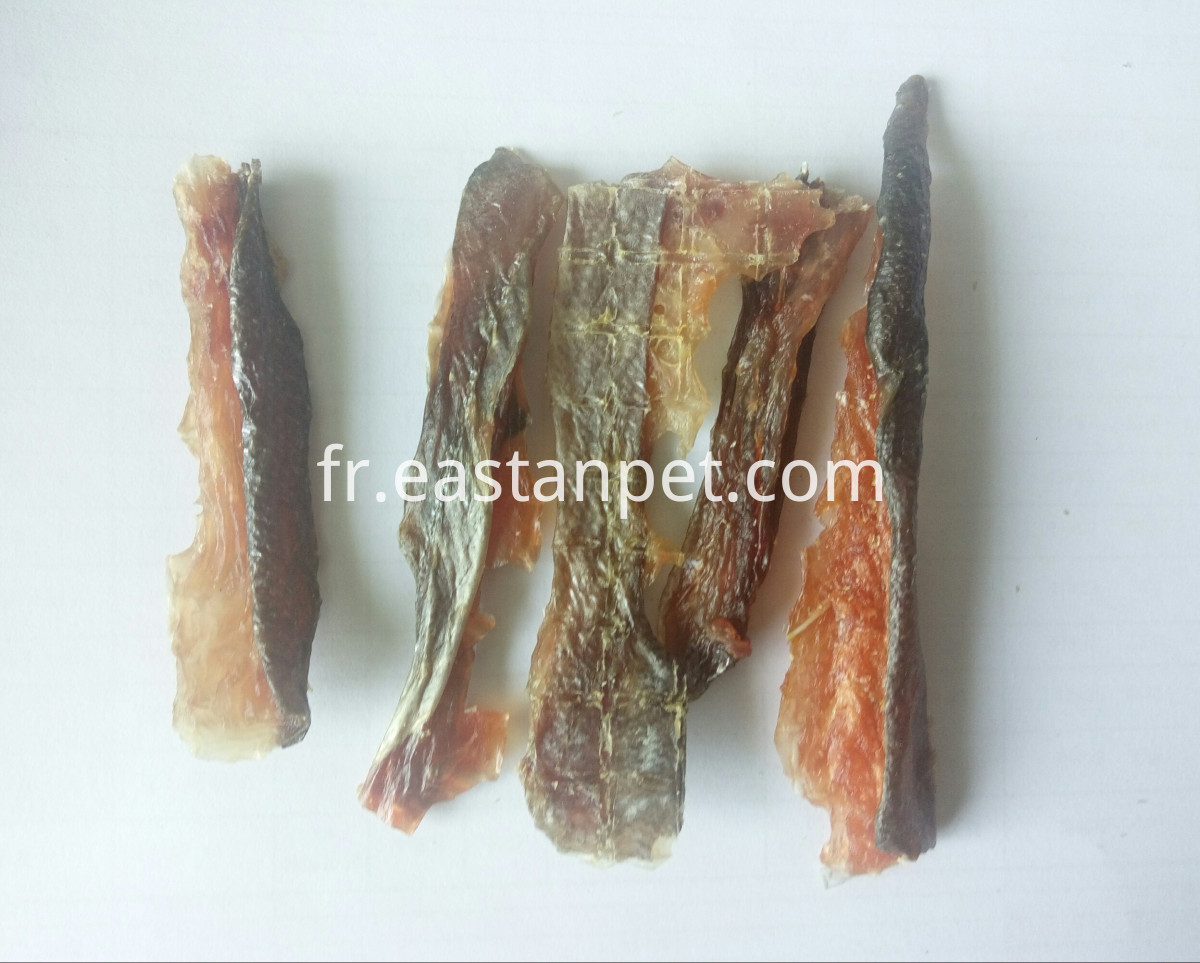 SALMON STRIP AIR-DRY DOG SNACKS