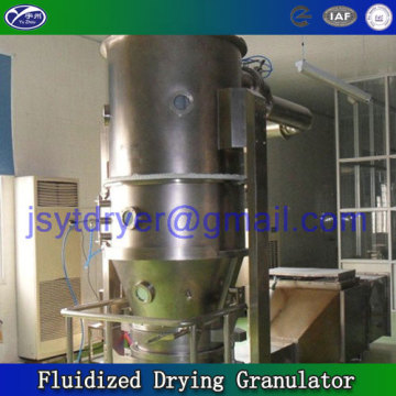 Fluidized Drying Granulator for sawdust feed
