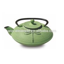 Ventas al por mayor / ventas calientes de alta calidad Chinease Iron Cast Tea Pot con infuser 0.6L