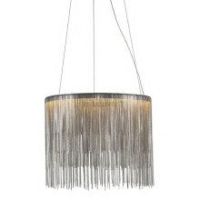 Nordic modern round indoor luxury pendant light chrome Led hanging lights