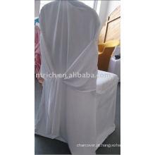 Tampa da cadeira do casamento do mergulhador, tampa da cadeira do banquete, tampa encantador da cadeira