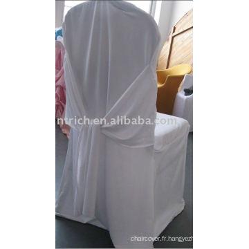Couverture de chaise de mariage de Scuba, couverture de chaise de banquet, couverture de chaise de charme