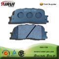 semi-metallic car brake pad for TOYOTA CAMRY 2001-2006
