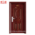 As portas de aço decorativas residenciais projetam a porta do apartamento da entrada da alta qualidade