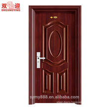 Residential decorative steel doors designs high quality entry apartment door