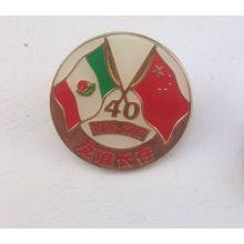 Insigne en métal personnalisé, insigne national en émail (GZHY-LP-019)