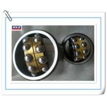 Roulement à billes auto-dressant de double rangée, cage en laiton de haute qualité